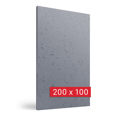 Architectural Concrete Wall Panel - Grey 200x100 cm
