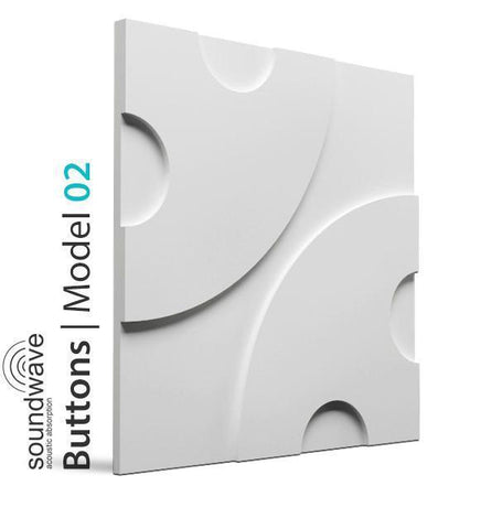 3D Wall Panel  – BUTTONS, [shop-name]