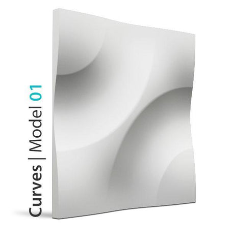 3D Wall Panel – CURVES, [shop-name]