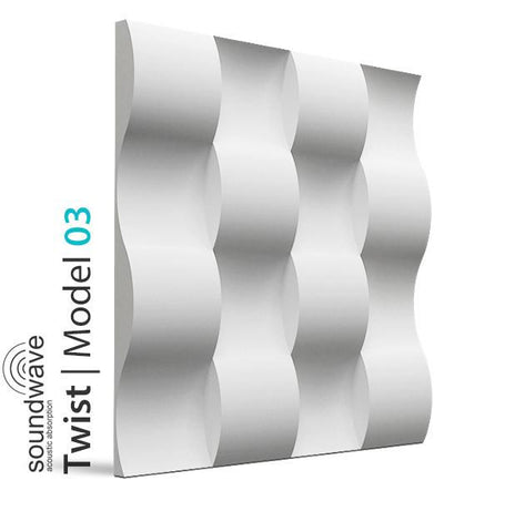3D Wall Panel - TWIST, [shop-name]