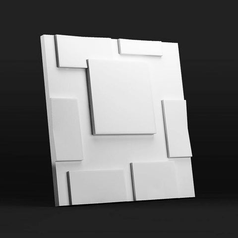 """Squares"" 3D Wall Panel Model 05, [shop-name]"