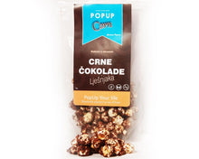 Load image into Gallery viewer, Gourmet POP Corn - Dark chocolate and Hazelnut - Popup