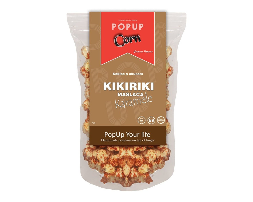 Gourmet POP Corn - Peanut butter and Caramel - Popup