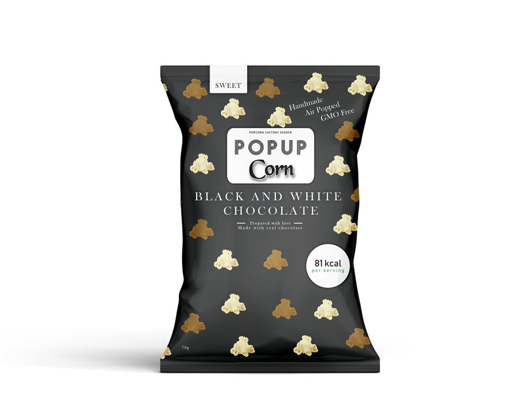 PopCorn Black and White Chocolate - Popup