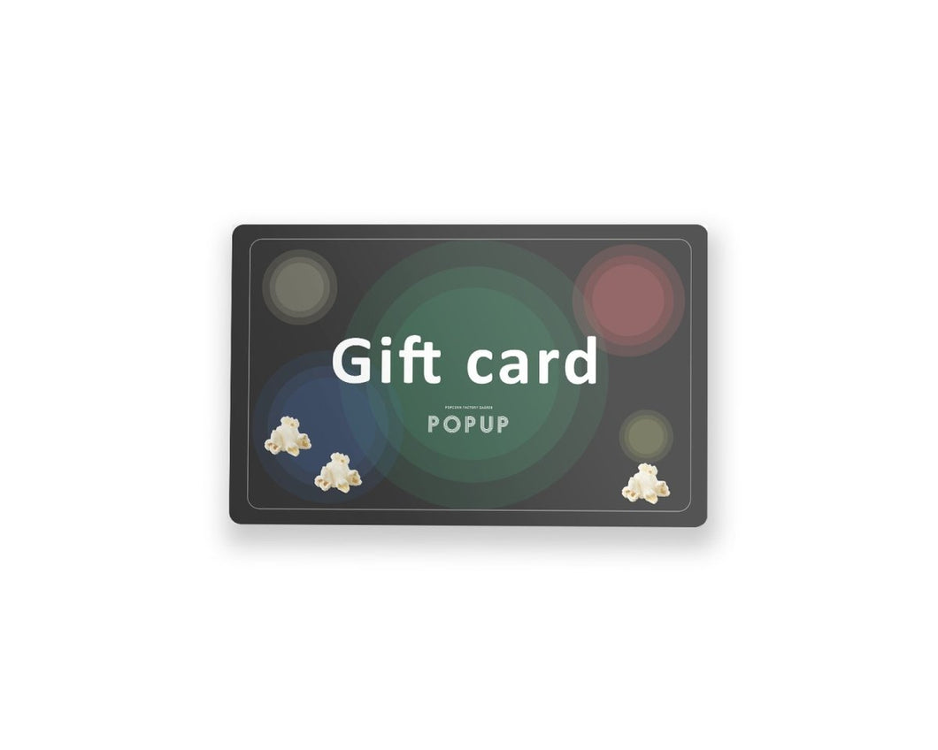 POPUP virtual Gift Card - Popup