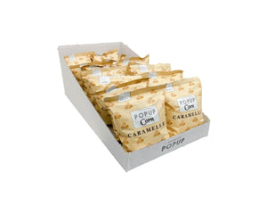 Ready2shelf box - 16 bags PopUp Corn Caramelle - Popup