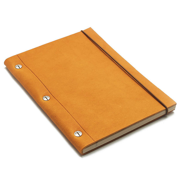 Leather Notebook Havana Medium