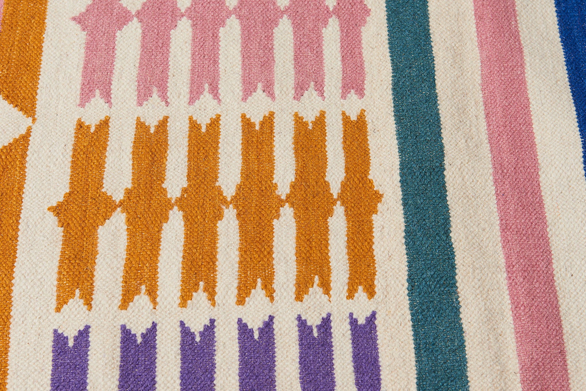 Heat Wave in Rajasthan Flat Weave Rug