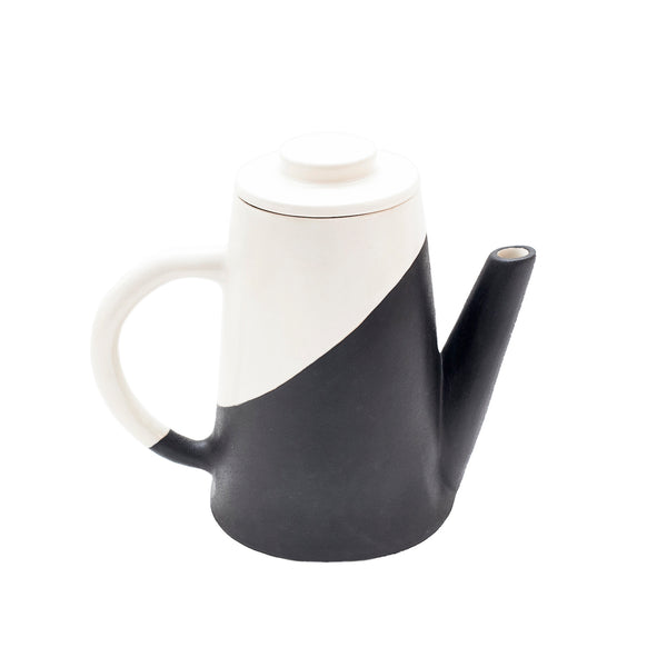 Apparatus Shift Porcelain Teapot