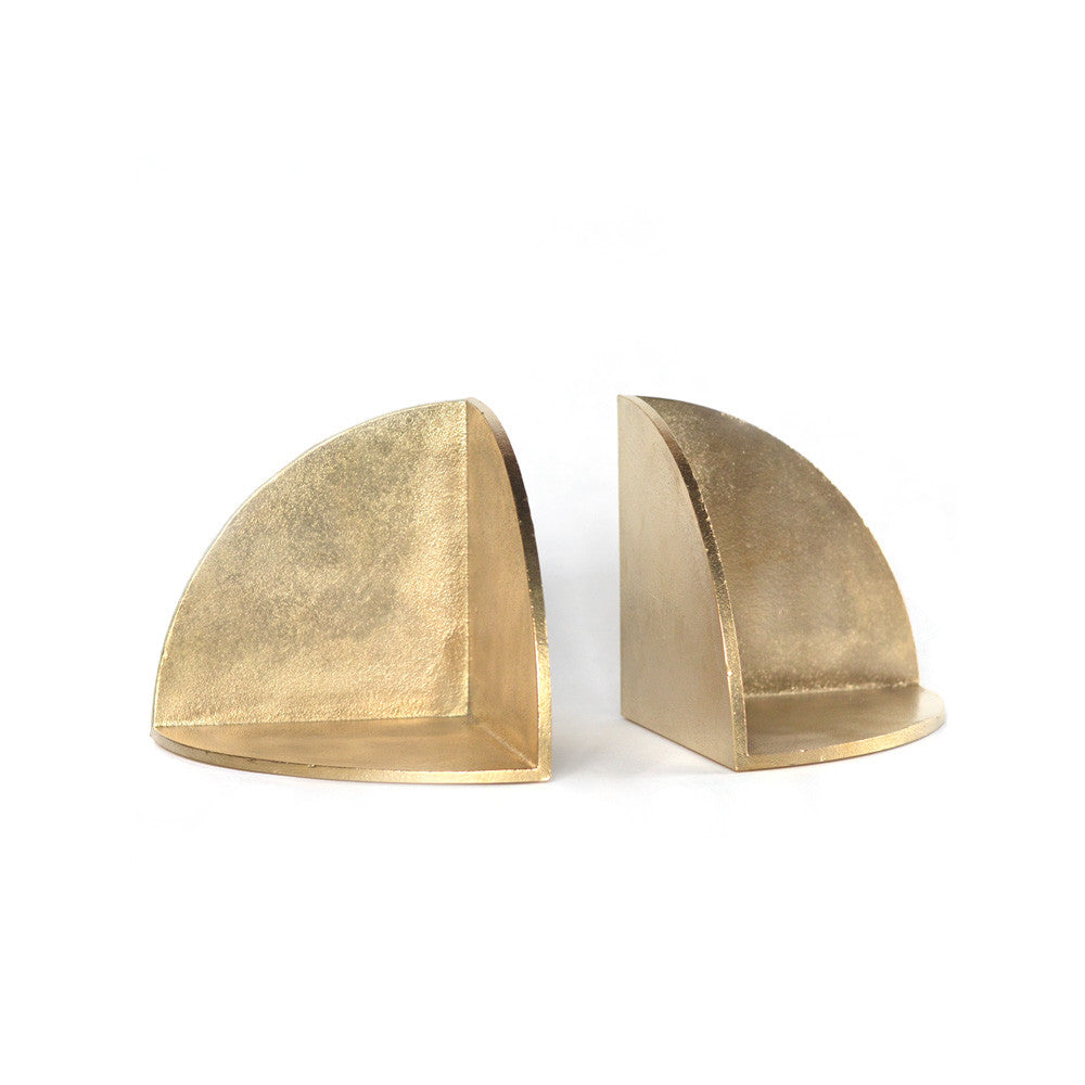 S/N Brass Bookend