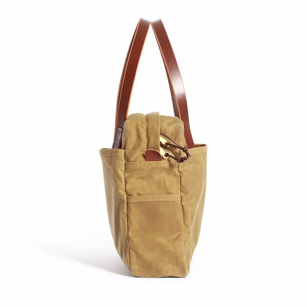 Safari Tan Zip Utility Tote