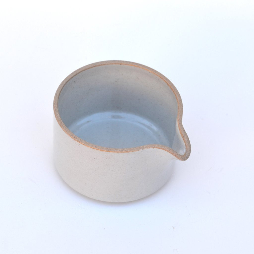 Hasami Porcelain Gloss Grey Milk Pitcher