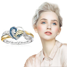 Load image into Gallery viewer, Dolphin Sapphire Engagement Ring™