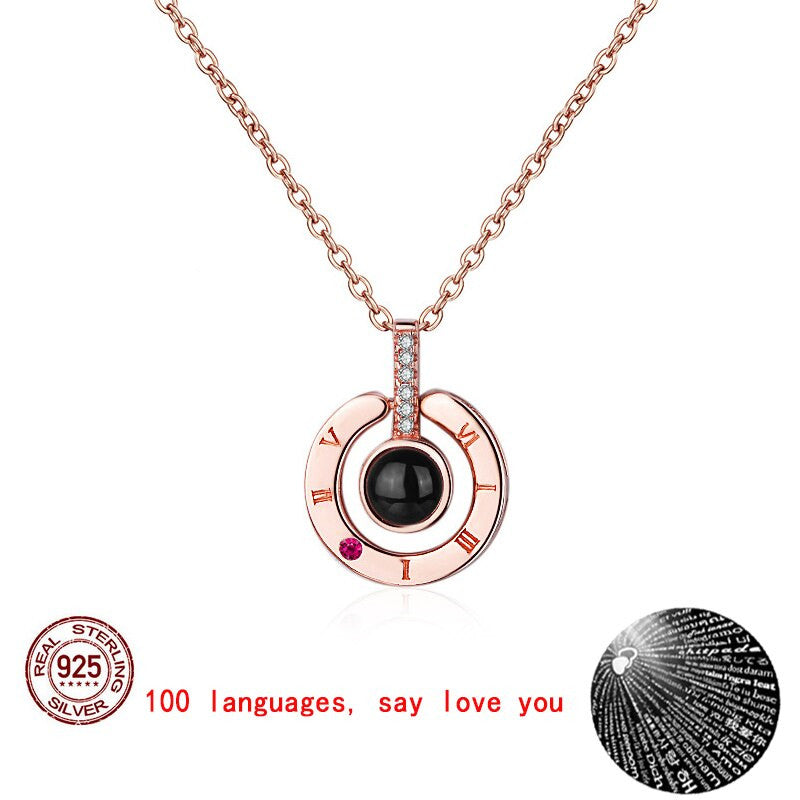 I love you Projection Necklace™