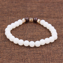 Load image into Gallery viewer, Natural White Chalcedony Positivity Bracelet™