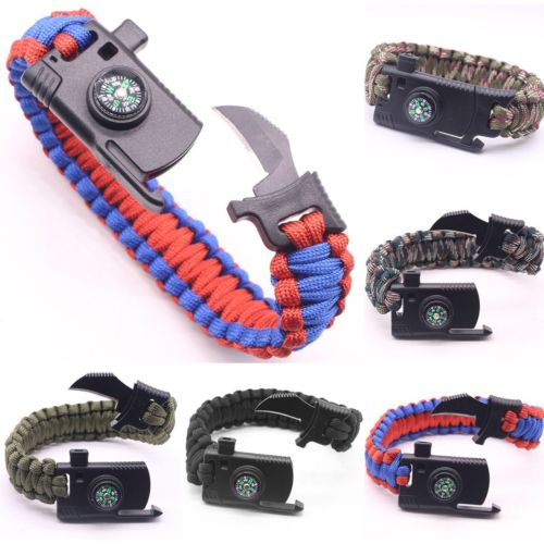 Outdoor Umbrella Rope Bracelet Wild Cutting Knife™ (BUY 1 GET 1 FREE)