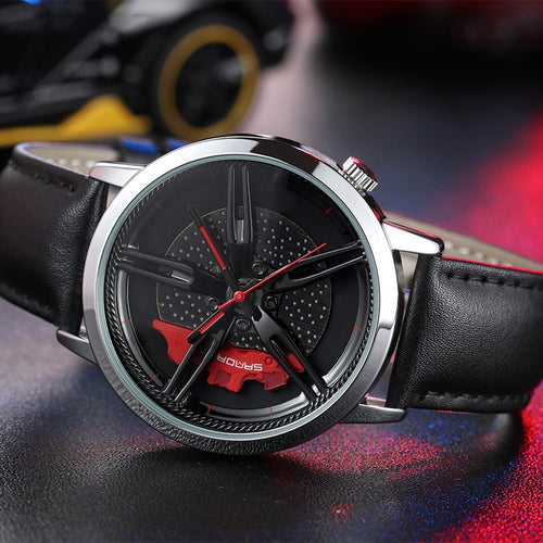 Waterproof Fashion Car Wheel Hollow Watch™