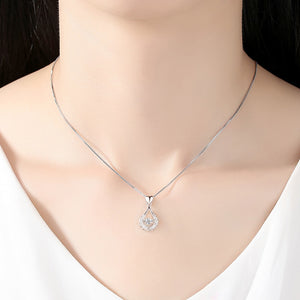 Beiver Exquisite White Gold Necklace™