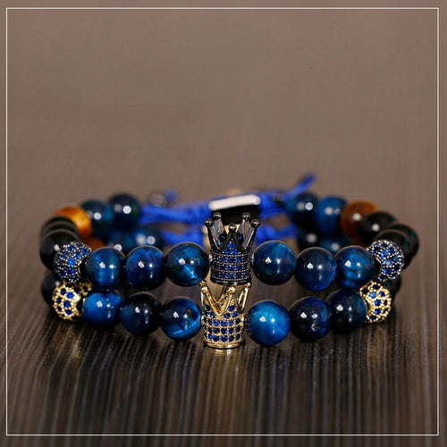 Crown Pave Weaving Bracelet™