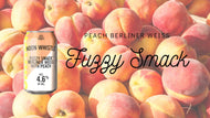 Fuzzy Smack - Peach Berliner Weiss - 4 Pack - 12oz Can