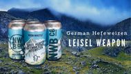 Leisel Weapon - German Hefeweizen - 4 Pack - 16oz Can - $10