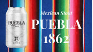 Puebla 1862 - Mexican Stout - 4 Pack - 12oz Can - $12