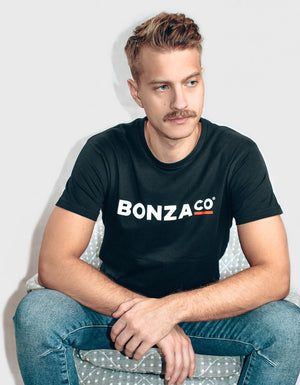 Bonza Co. T-shirt svart