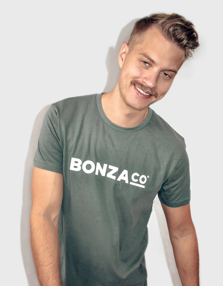 Bonza Co. T-shirt khaki