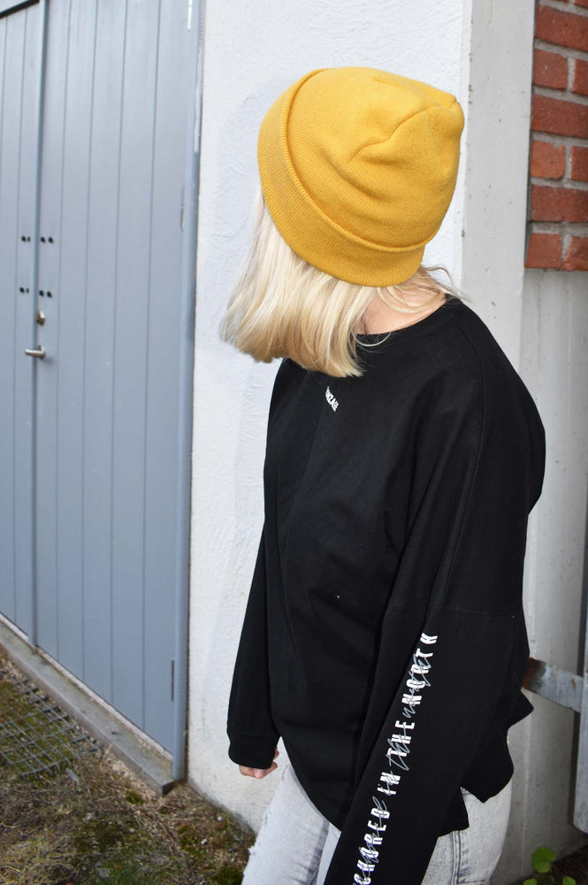 North long sleeve svart - unisex