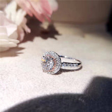 Load image into Gallery viewer, Silver Ring Wedding Rings Charms