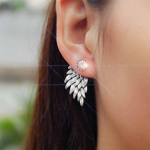 Load image into Gallery viewer, New Crystal Flower Drop Earrings