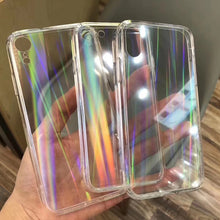 Load image into Gallery viewer, Gradient Rainbow Laser Cases For iPhone