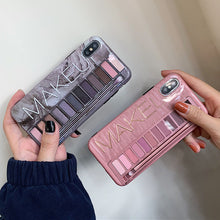 Load image into Gallery viewer, Makeup Eyeshadow Palette Phone Case For iPhone