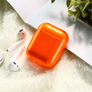 Candy Color Transparent Case For AirPods C