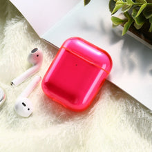 Load image into Gallery viewer, Candy Color Transparent Case For AirPods C