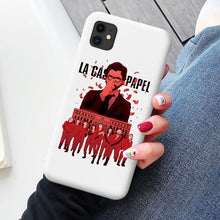 Load image into Gallery viewer, Spain TV Money Heist House Paper La Casa de papel phone case for iPhone