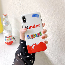 Load image into Gallery viewer, New Trolly egg KINDER JOY Surprise soft silicon cover cases for iphone