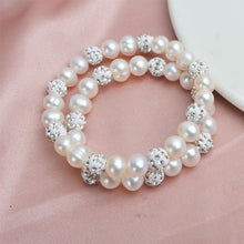 Load image into Gallery viewer, Natural Freshwater Pearl Bracelets Bangles