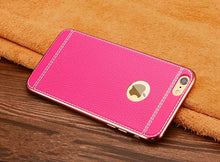 Load image into Gallery viewer, Luxury 3D Leather Retro Phone Case For iPhone