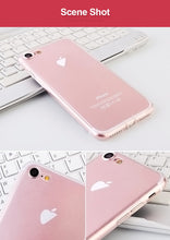 Load image into Gallery viewer, Ultra Thin Slim Transparent Soft TPU Phone Case For iPhone