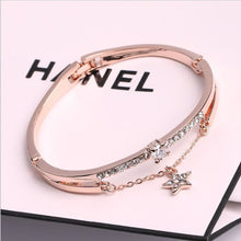 Load image into Gallery viewer, Luxury Famous Brand Jewelry Rose Gold Stainless Steel Bracelet
