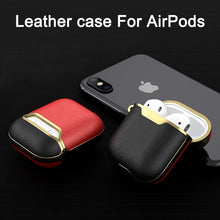 Load image into Gallery viewer, Leather Case For Airpods