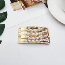 Load image into Gallery viewer, 1/12 pcs Rhinestones Hair Clip