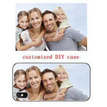 Load image into Gallery viewer, Soft Silicone TPU  Phone Case Customized Photo  For iPhone