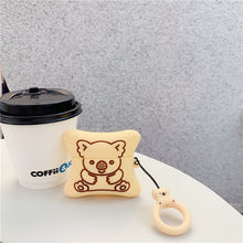 Load image into Gallery viewer, 3D Cookie Bear Earphone Case for Apple Airpods