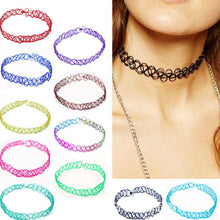 Load image into Gallery viewer, 1pcs Sell Choker Necklaces Colorful Chokers Particular year Necklace