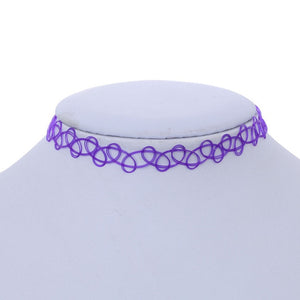 1pcs Sell Choker Necklaces Colorful Chokers Particular year Necklace