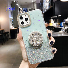 Load image into Gallery viewer, Bling Clear Phone Case For iphone