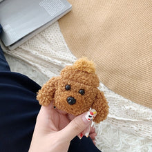Load image into Gallery viewer, Teddy Plush For Apple AirPod