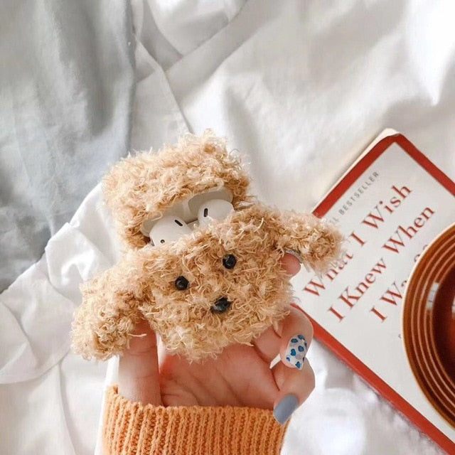 Teddy Plush For Apple AirPod